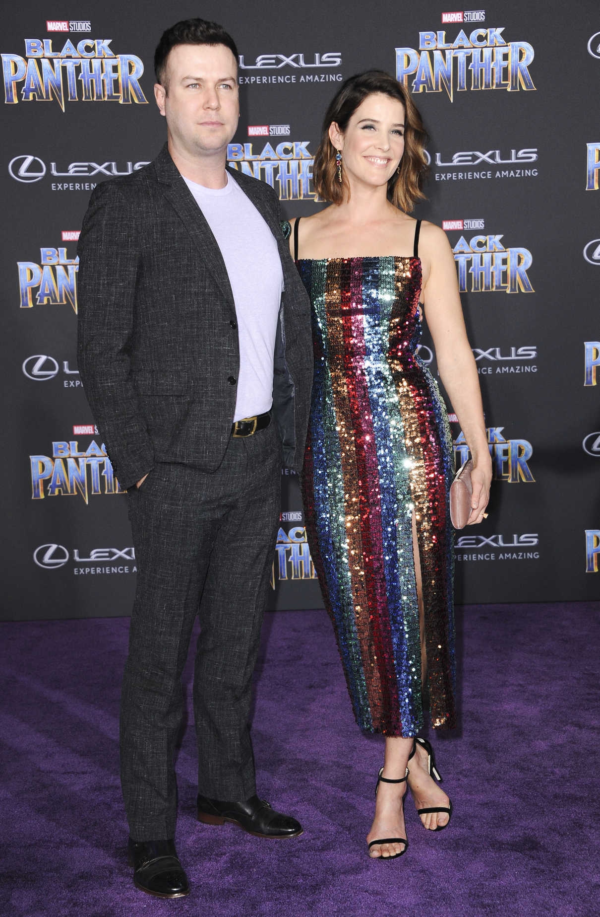 Cobie Smulders at the Black Panther Premiere in Hollywood 01/29/2018-4