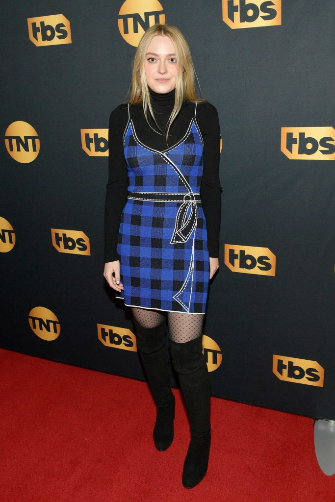 Dakota Fanning at the TNT And TBS Lodge During 2018 Sundance Film Festival in Park City 01/19/2018-1