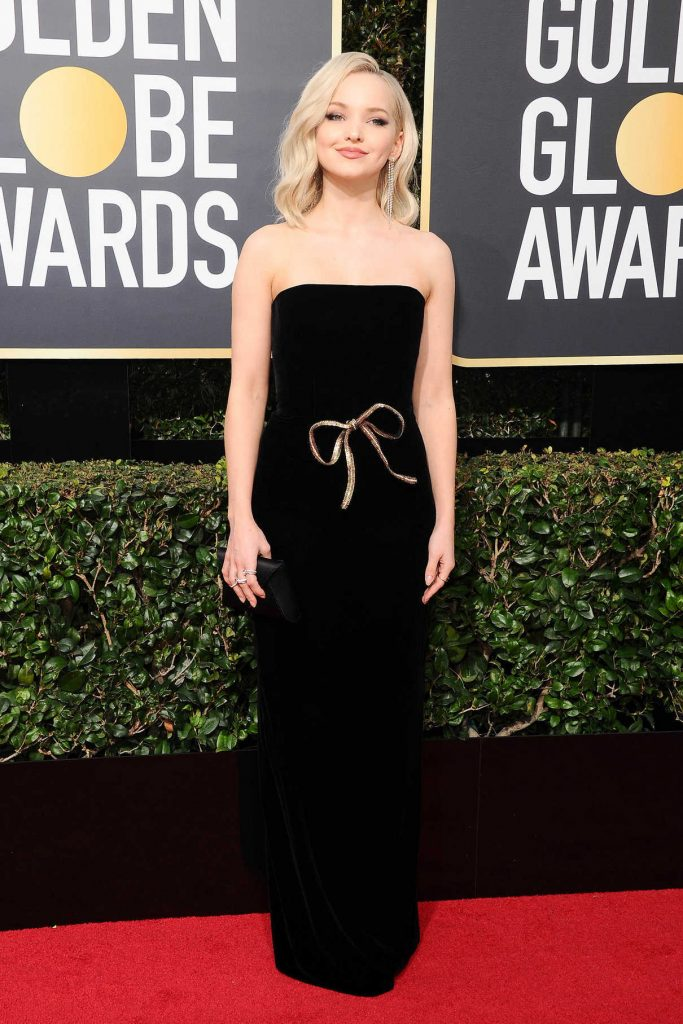 Dove Cameron at the 75th Annual Golden Globe Awards in Beverly Hills 01/07/2018-1