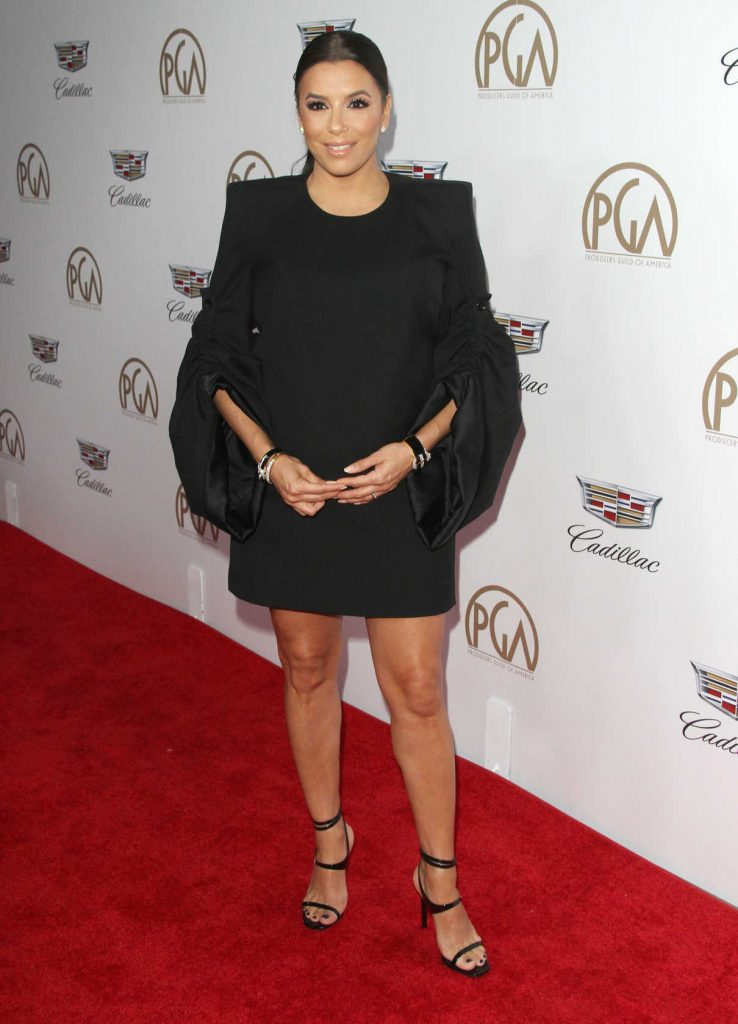 Eva Longoria Attends the 29th Annual Producers Guild Awards in Beverly Hills 01/20/2018-1