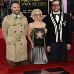 Gillian Anderson Honored with a Star on The Hollywood Walk of Fame in Hollywood 01/08/2018-5