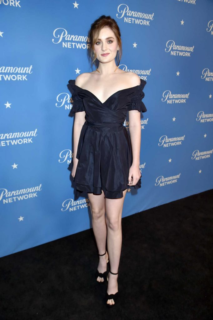 Grace Victoria Cox at the Paramount Network Launch Party at Sunset Tower in Los Angeles 01/18/2018-1