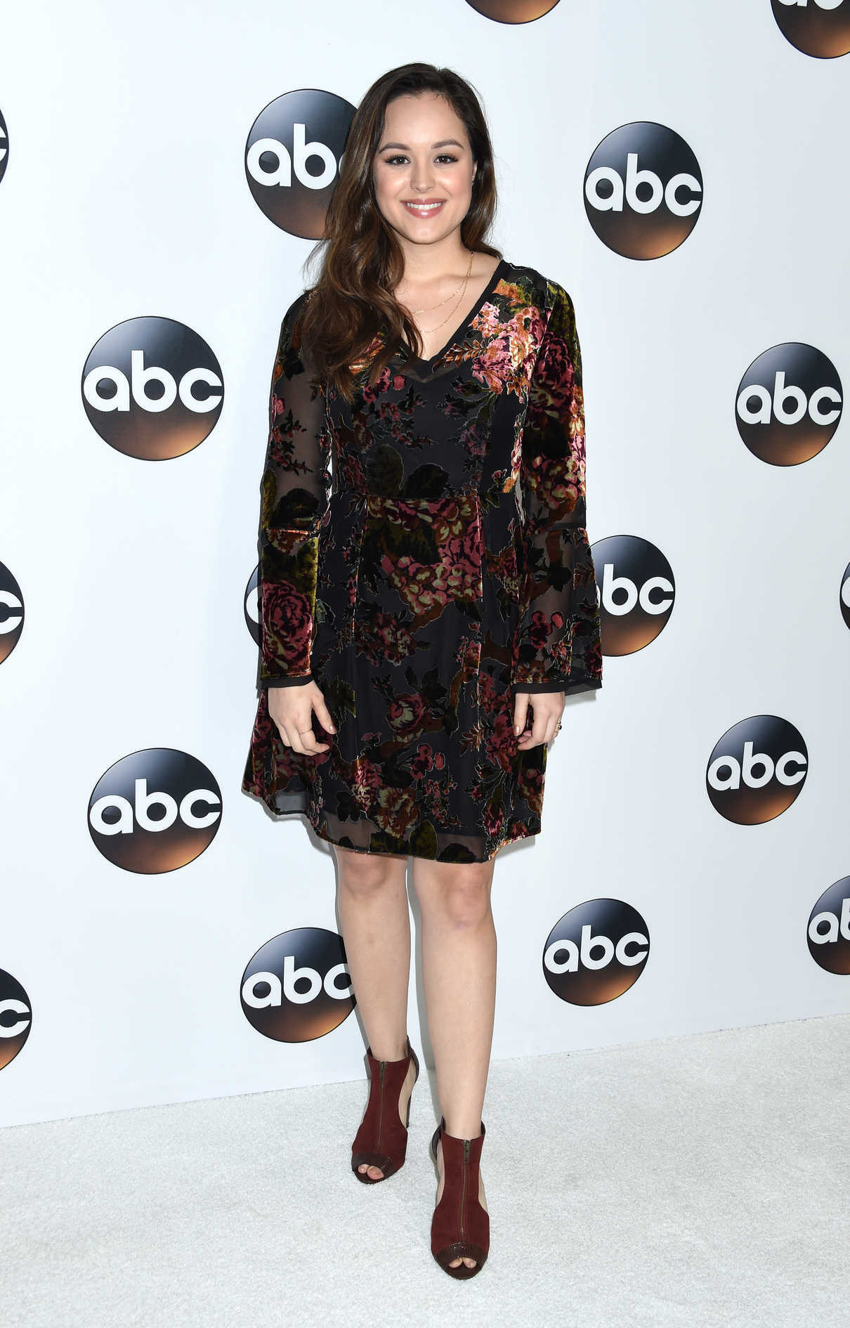 Hayley Orrantia at Disney ABC TCA Winter Press Tour in Pasadena 01/08/2018-2