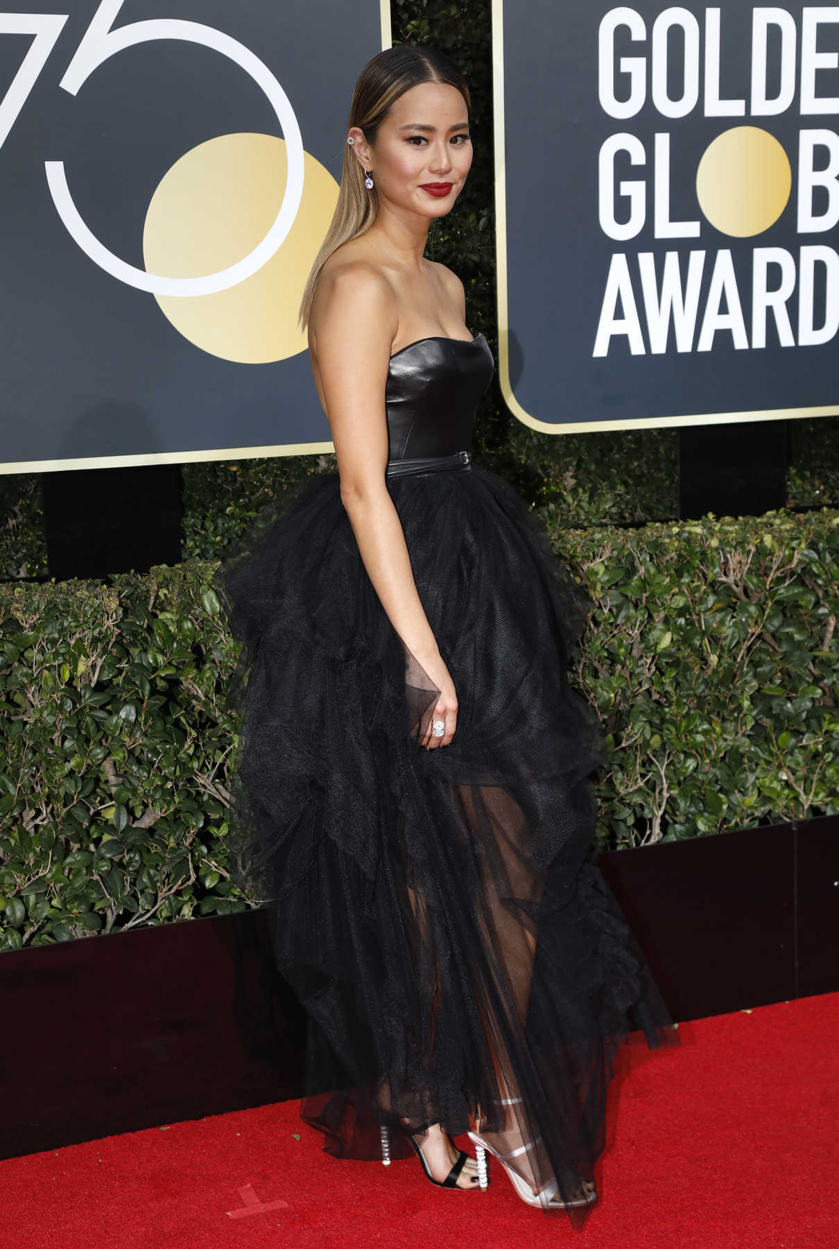 Jamie Chung at the 75th Annual Golden Globe Awards in Beverly Hills 01/07/2018-3