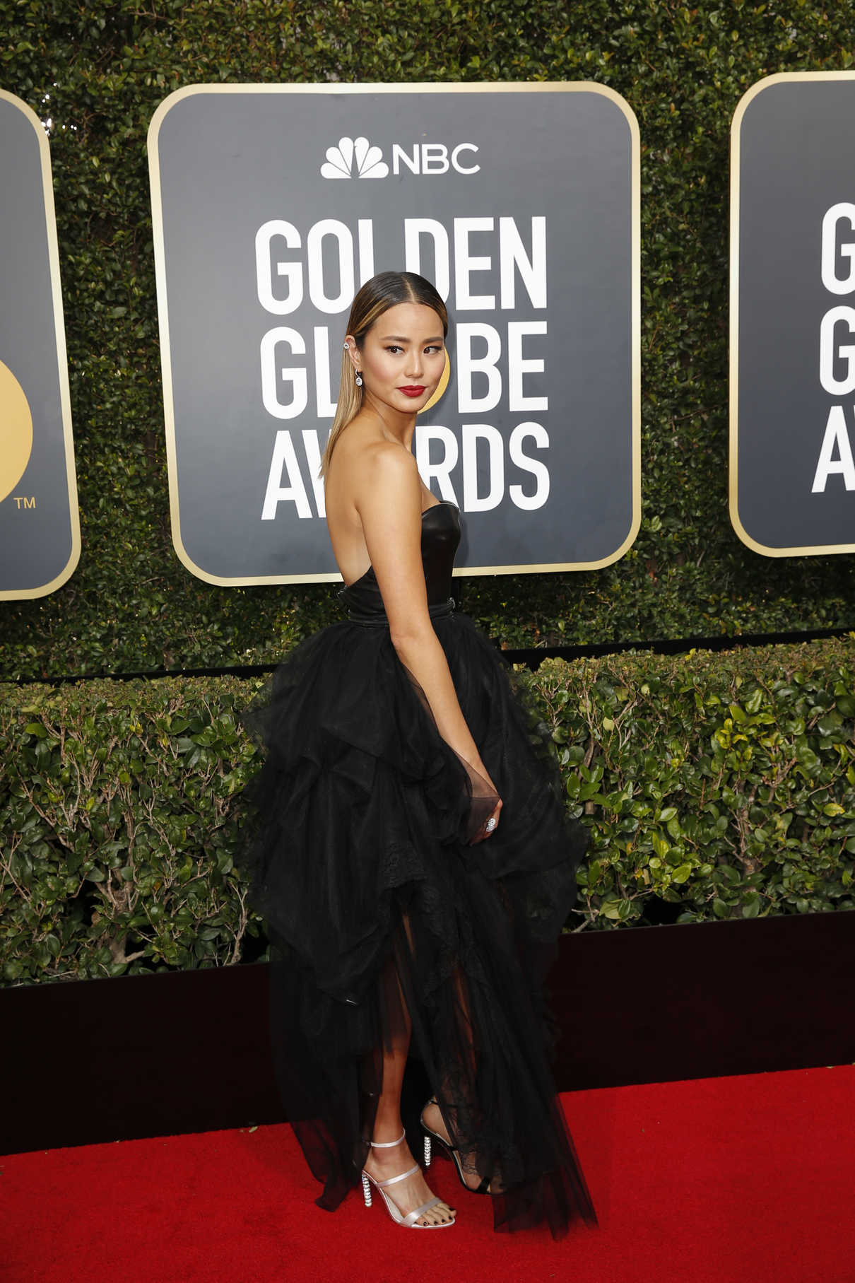 Jamie Chung at the 75th Annual Golden Globe Awards in Beverly Hills 01/07/2018-4
