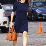 Jennifer Garner Leaves Sunday Service in Pacific Palisades 01/14/2018-3