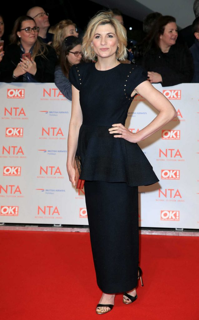 Jodie Whittaker at the 24th National Television Awards in London 01/24/2018-1