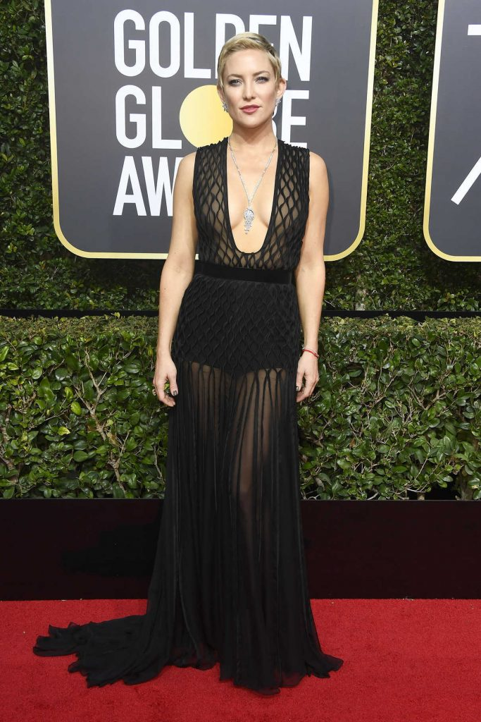 Kate Hudson at the 75th Annual Golden Globe Awards in Beverly Hills 01/07/2018-1
