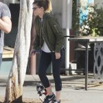 Kate Mara Takes Her Dog to the Hospital in LA 01/24/2018-2