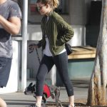 Kate Mara Takes Her Dog to the Hospital in LA 01/24/2018-3