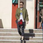 Kate Mara Takes Her Dog to the Hospital in LA 01/24/2018-4