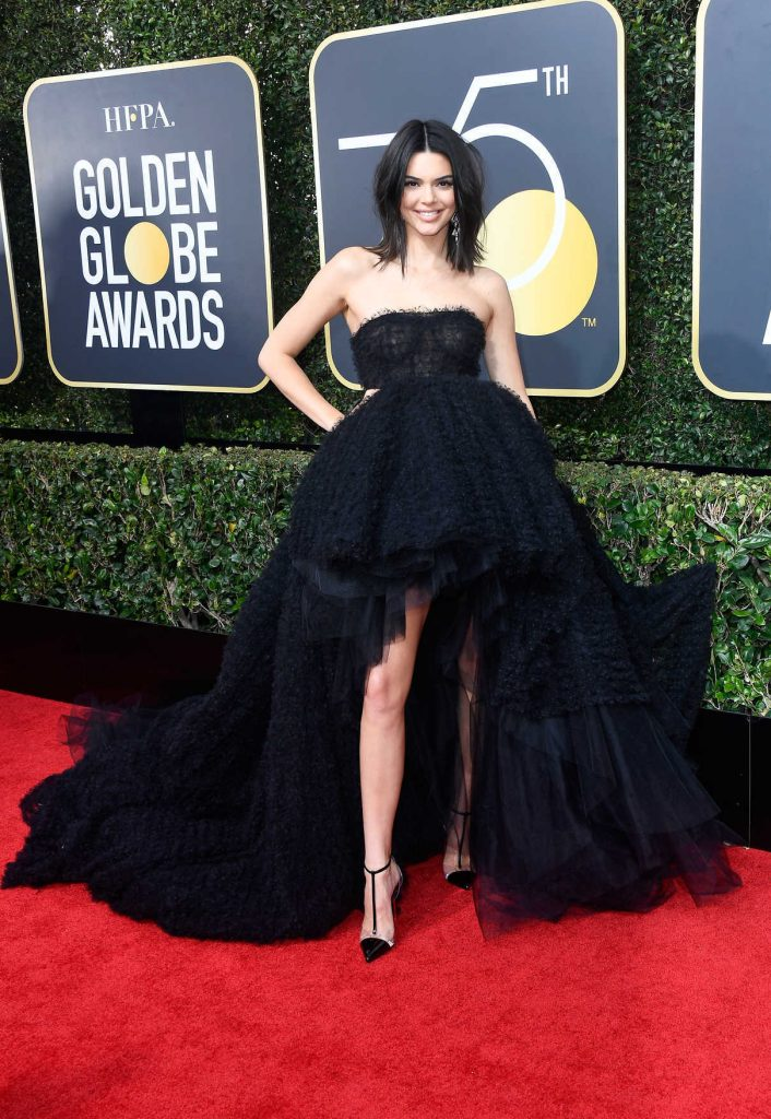Kendall Jenner at the 75th Annual Golden Globe Awards in Beverly Hills 01/07/2018-1