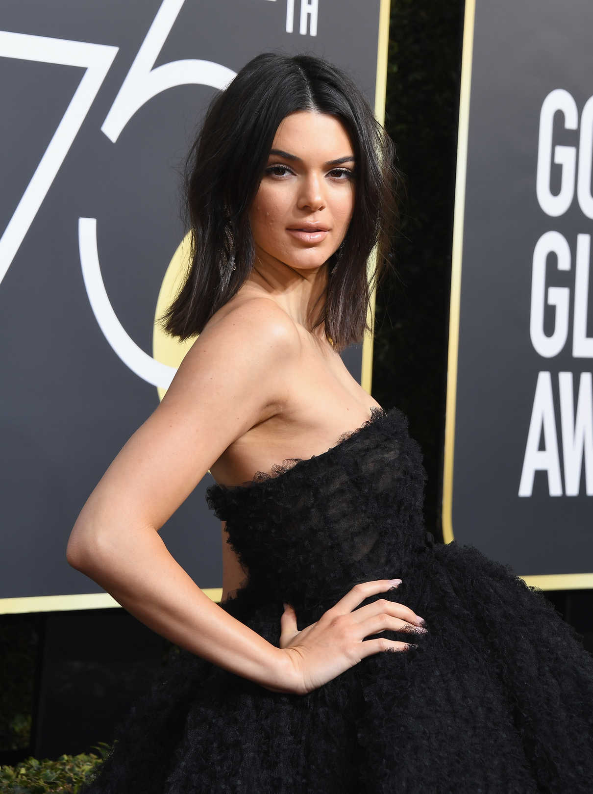 Kendall Jenner at the 75th Annual Golden Globe Awards in Beverly Hills 01/07/2018-4