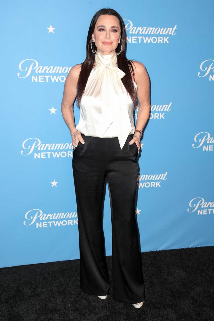 Kyle Richards at the Paramount Network Launch Party at Sunset Tower in Los Angeles 01/18/2018-1