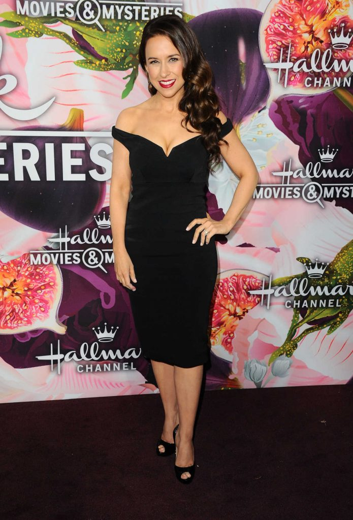 Lacey Chabert at the Hallmark Channel All-Star Party During the TCA Winter Press Tour in Los Angeles 01/13/2018-1