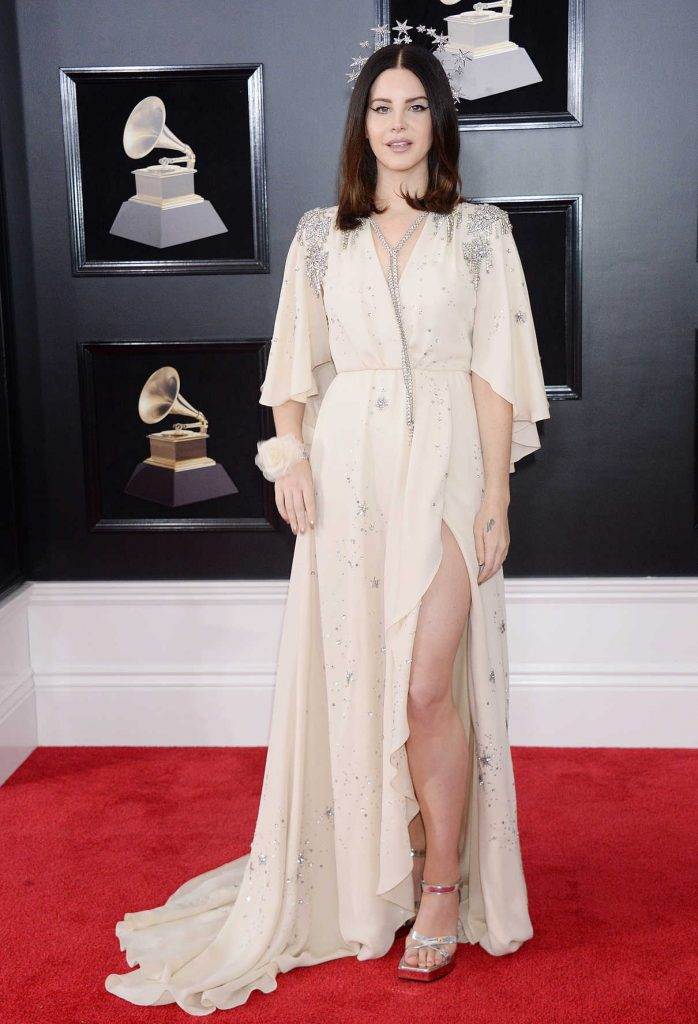 Lana Del Rey at the 60th Annual Grammy Awards at Madison Square Garden in New York City 01/28/2018-1