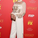 Lea Michele at The Assassination of Gianni Versace: American Crime Story Screeneng in Hollywood 01/08/2018-4