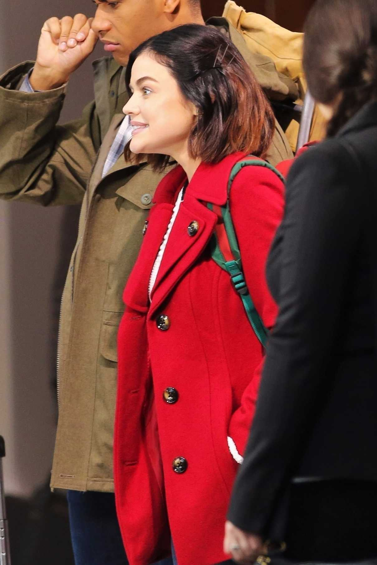 Lucy Hale Was Spotted on the Set of Her Show Life Sentence in Vancouver 01/09/2018-3
