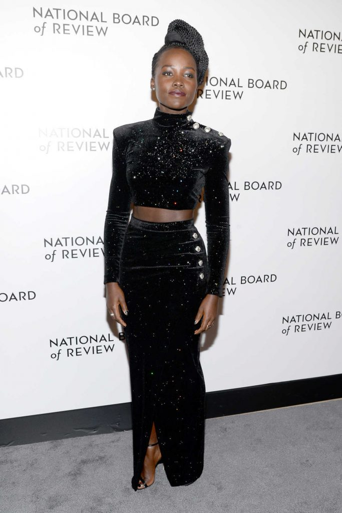 Lupita Nyong'o at The National Board of Review Annual Awards Gala at Cipriani 42nd Street in New York City 01/09/2018-1
