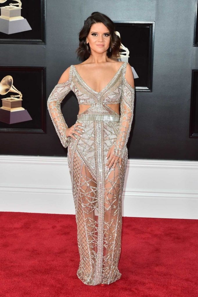 Maren Morris at the 60th Annual Grammy Awards at Madison Square Garden in New York City 01/28/2018-1