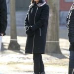 Mila Kunis Gets a Tour of the Harvard Campus in Cambridge 01/25/2018-4