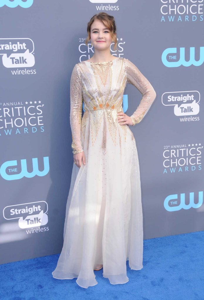Millicent Simmonds at the 23rd Annual Critics' Choice Awards in Santa Monica 01/11/2018-1