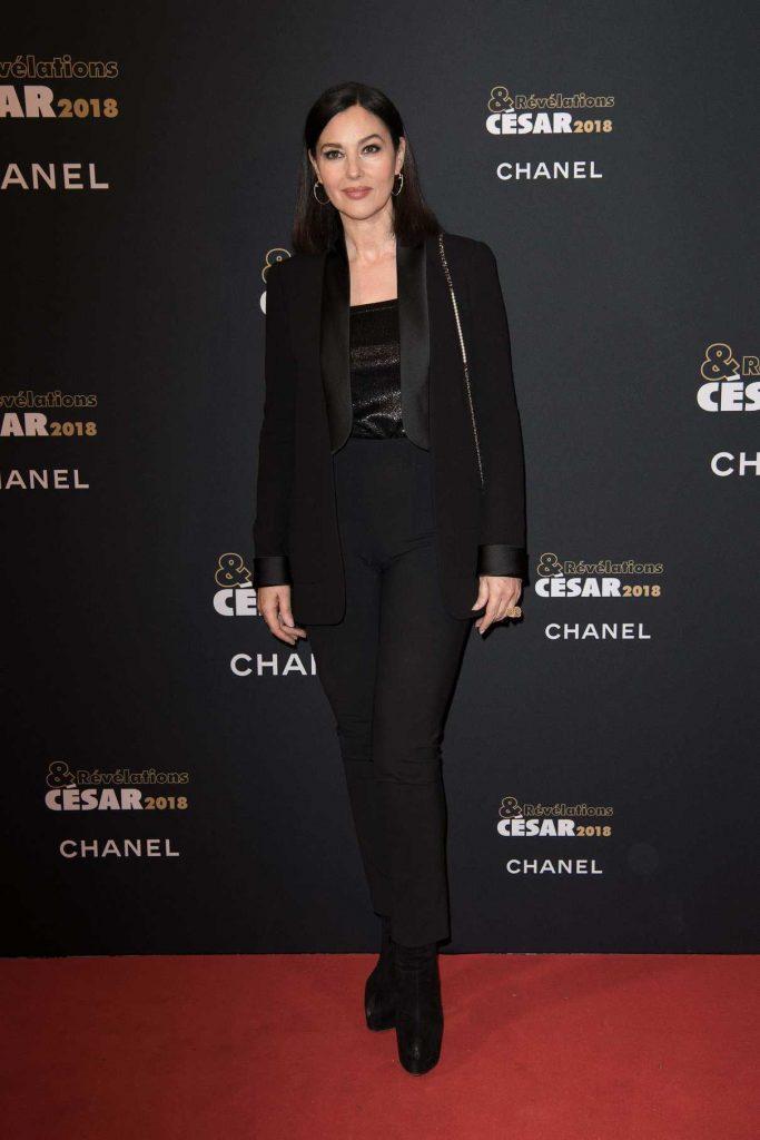 Monica Bellucci at the Cesar - Revelations 2018 Party at Le Petit Palais in Paris 01/15/2018-1