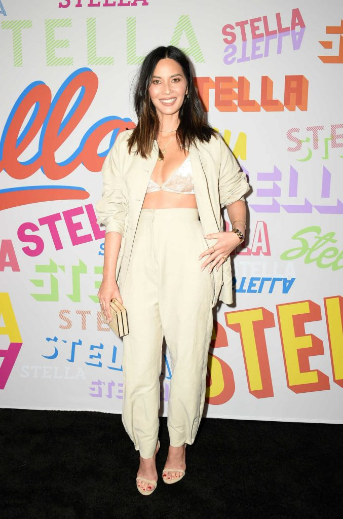 Olivia Munn at the Stella McCartney Show in Hollywood 01/16/2018-1