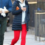 Olivia Wilde Goes for a Stroll with Jason Sudeikis Out in NYC 01/03/2018-2