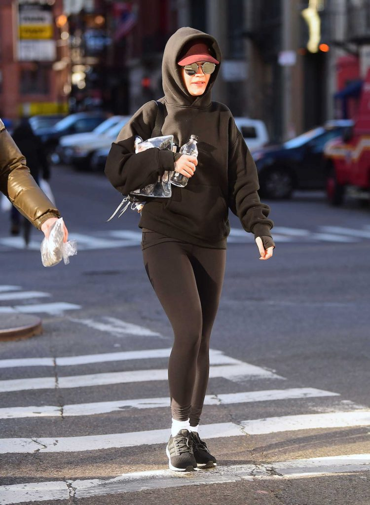 Rita Ora Hits the Gym in NYC 24/01/2018-1