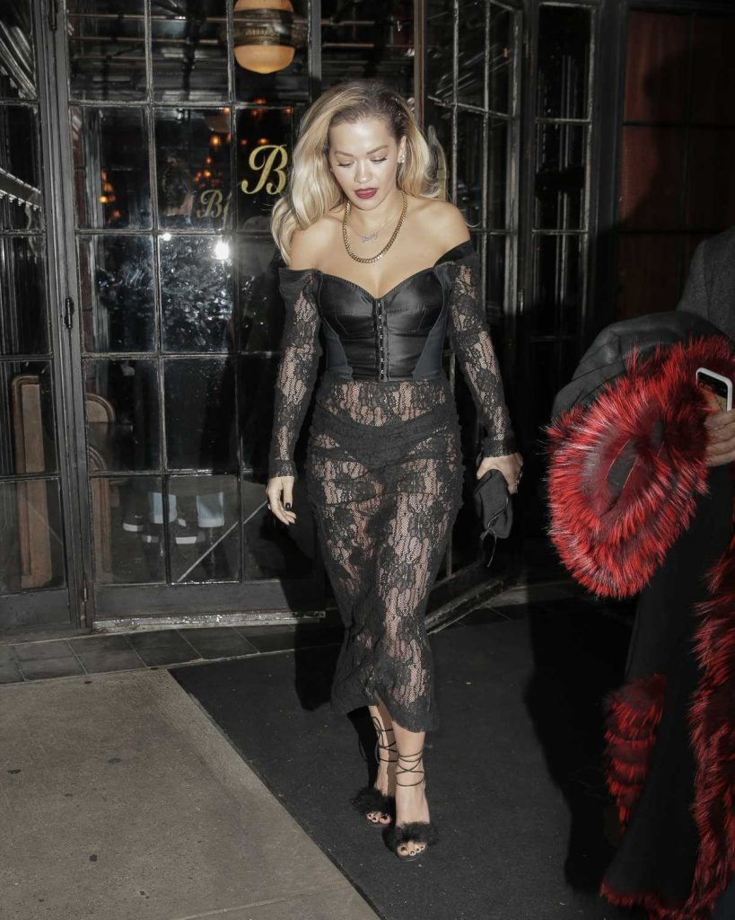 Rita Ora Leaves a Grammys After Party in NYC 01/28/2018-1