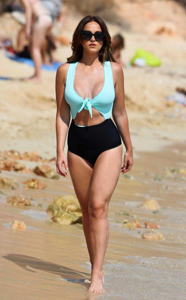 Vicky Pattison in Bikini at the Beach in Cape Verde 12/31/2017-1