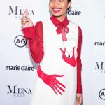 Yara Shahidi at the Marie Claire Image Makers Awards in Los Angeles 01/11/2018-4