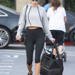 Alessandra Ambrosio Goes Shopping Out in Santa Monica 01/31/2018-2