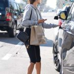 Alessandra Ambrosio Goes Shopping Out in Santa Monica 01/31/2018-5