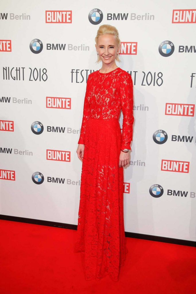 Anne Heche at the BMW Festival Night at the Berlinale in Berlin 02/16/2018-1