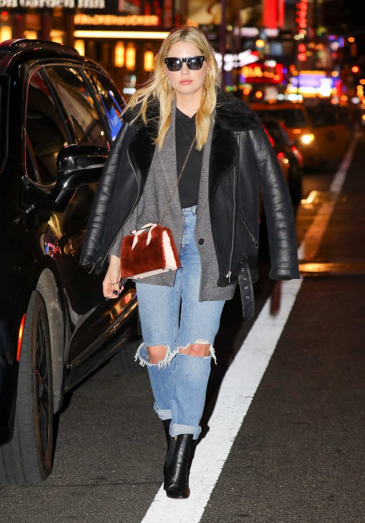 Ashley Benson Was Spotted Out in New York City 02/09/2018-1