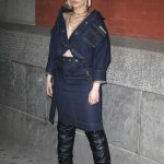 Bebe Rexha at the Marc Jacobs Fashion Show During New York Fashion Week in New York City 02/14/2018-3