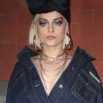 Bebe Rexha at the Marc Jacobs Fashion Show During New York Fashion Week in New York City 02/14/2018-5
