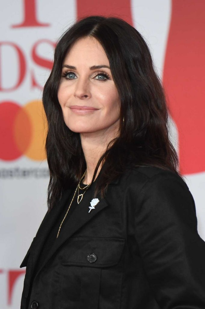 Courteney Cox Attends the 2018 Brit Awards at the O2 Arena in London 02/21/2018-1
