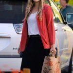 Elizabeth Olsen Shops for Groceries at Trader Joes in Los Feliz 02/01/2018-3