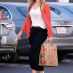 Elizabeth Olsen Shops for Groceries at Trader Joes in Los Feliz 02/01/2018-5