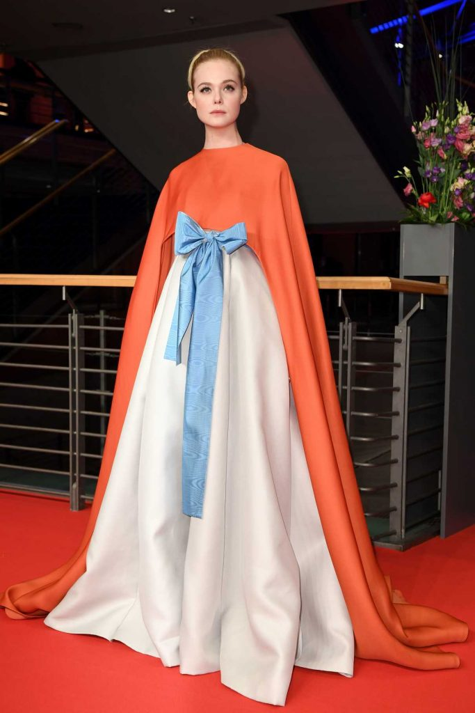 Elle Fanning at Berlin International Film Festival Opening Ceremony in Berlin 02/15/2018-1