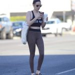 Emma Roberts Leaves a Dance Class in LA 02/22/2018-2