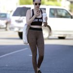 Emma Roberts Leaves a Dance Class in LA 02/22/2018-4