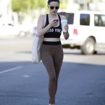 Emma Roberts Leaves a Dance Class in LA 02/22/2018-5
