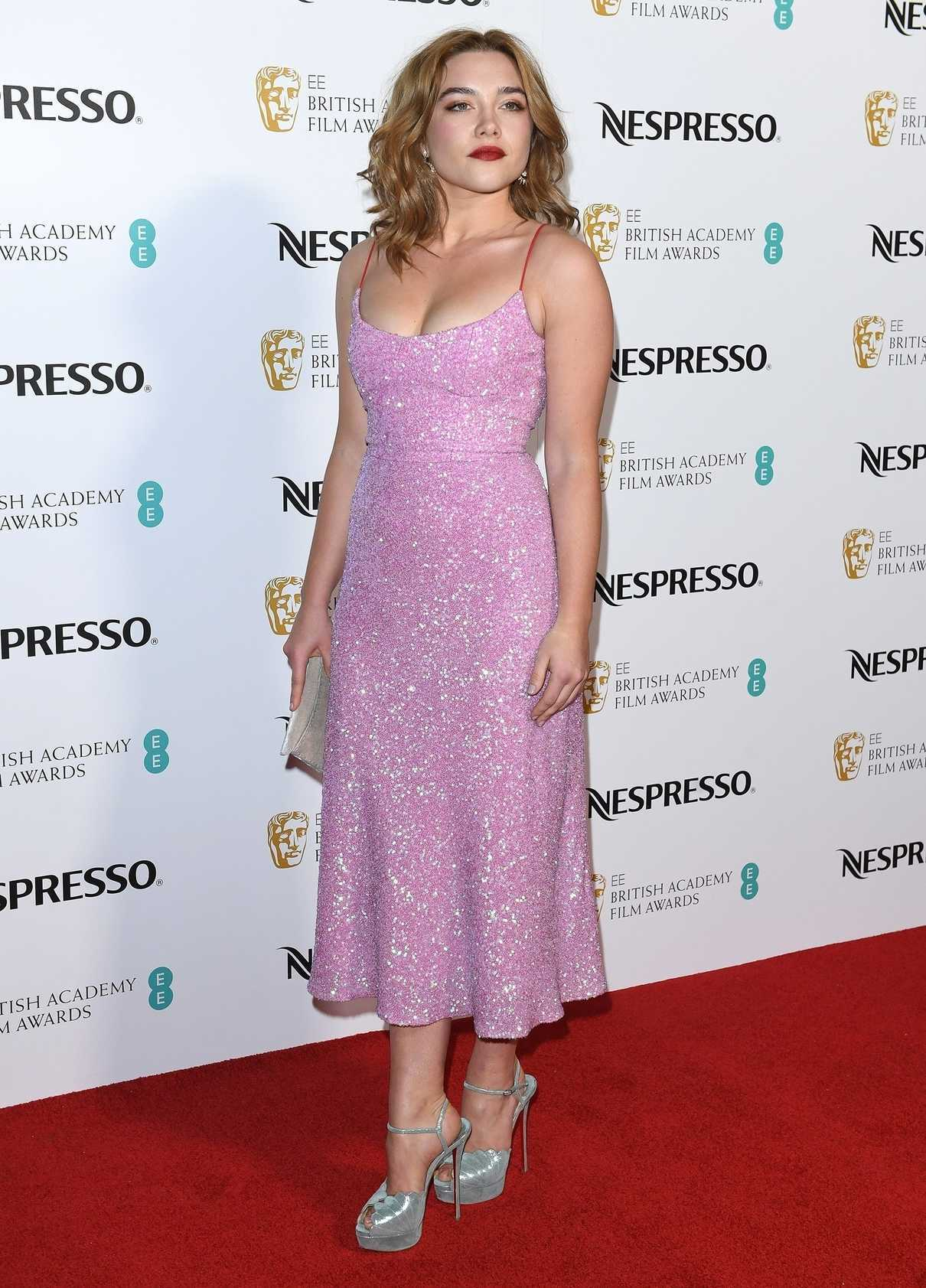 Florence Pugh - British Academy Film Awards Nominees Party