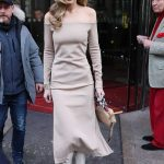 Gigi Hadid Leaves Le Royal Monceau Raffles Hotel in Paris 02/27/2018-2