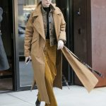 Gigi Hadid Wears a Beige Coat Out in New York City 02/02/2018-2