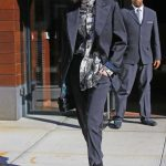 Gigi Hadid Wears a Pant Suit During New York Fashion Week in New York City 02/08/2018-3